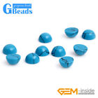 Blue Turquoise Round CAB Cabochon Beads For Jewelry Ring Charm Making 5Pcs