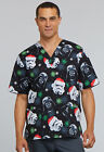 Star Wars Cherokee Scrubs Tooniforms Christmas Unisex V Neck Top TF606 SRMS $34.99 USD on eBay