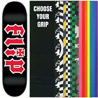 "Flip Skateboard Deck HKD 8.0"" Black/Red with GRIPTAPE image"