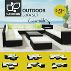 Gardeon Outdoor Furniture Sofa Lounge Setting Couch Wicker Table Chairs Patio