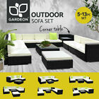 Gardeon Outdoor Sofa Lounge Setting Couch Wicker Table Chairs Patio Furniture