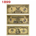 Внешний вид - 1899 US $1/2/5 Chief Gold Banknote Colored Golden Dollar Bill Crafts Collection