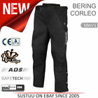 Bering Corleo Motorcycle/ Bike Mens Textile Pants│CE Approved│Waterproof│Black