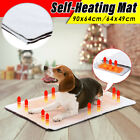 Pet Self Heating Thermal Blanket Bed Dog Cat Mat Bunny Heated Warmer