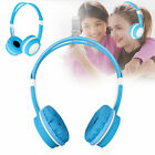 Adjustable Wired Headsets Kids Headphones 35mm Over Ear Earphone for Tablet MP3