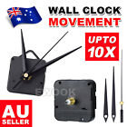Silent Diy Quartz Movement Wall Clock Motor Mechanism Long Spindle Repair Kit