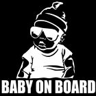 HK- Car Body Window Warning Sign Baby On Board  Decal Reflective Sticker Decor W