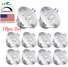 10x Dimmable LED Downlight Spotlight Recessed Ceiling Down Light Bulb Lamp 110v