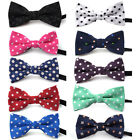10x Lot Bow Tie Collar Baby Kids Dog Pet Assorted Solid Bowtie Pack Grooming