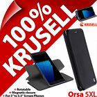 Krusell Orsa FolioCase 5XL Book Case Cover Viewing Stand Rotatable + Card Pocket