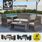 Gardeon Outdoor Furniture Lounge Setting Sofa Dining Set Patio Wicker Garden