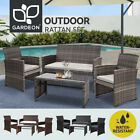 Gardeon Outdoor Lounge Setting Sofa Furniture Dining Set Patio Wicker Garden