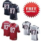 Men's New England Patriots #87 Rob Gronkowski Game Jersey Stitched on eBay