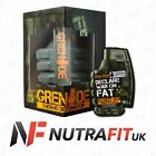GRENADE THERMO DETONATOR diet slimming fat burner weight loss workout caps