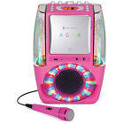 Singing Machine Agua SML605 At Home Karaoke System w/ LED Disco Lights