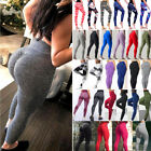 Women Butt Lift Yoga Pants Hip Push Up Leggings Fitness Workout Stretch Trousers