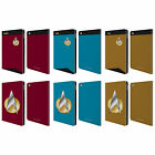 STAR TREK UNIFORMS AND BADGES TNG LEATHER BOOK WALLET CASE COVER FOR APPLE iPAD on eBay