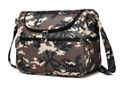 New Unisex Large Multi-function Messenger Baby Changing Diaper Bag+Changing Pad