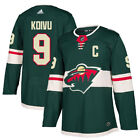 9 C Mikko Koivu Jersey Minnesota Wild Home Adidas Authentic