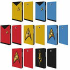 OFFICIAL STAR TREK UNIFORMS AND BADGES TOS LEATHER BOOK CASE FOR SAMSUNG TABLETS on eBay