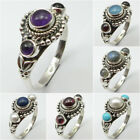 Traditional Jewelry Rings ! 925 Solid Silver Natural AMETHYST & Other Gemstones