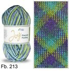 100 Gr Joy Planned Pooling from Rellana New Trend USA - Checked Pattern Crochet