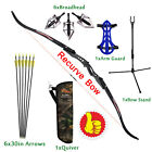 20lbs Archery Recurve Bow Takedown Right Hand+ Arrows+Accessories Set Youth New