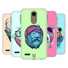 HEAD CASE DESIGNS FAUNA HIPSTERS SOFT GEL CASE FOR LG PHONES 2