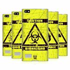 HEAD CASE DESIGNS HAZARD SYMBOLS SOFT GEL CASE FOR BLACKBERRY PHONES