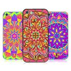 HEAD CASE DESIGNS MANDALA FLOWERS SILVER SLIDER CASE FOR APPLE iPHONE PHONES
