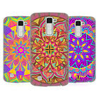 HEAD CASE DESIGNS MANDALA FLOWERS HARD BACK CASE FOR LG PHONES 3