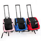 Pet Carrier Dog Cat Rolling BackPack Travel Wheel Luggage Bags Airline Bag Pouch