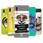 HEAD CASE DESIGNS FUNNY ANIMALS HARD BACK CASE FOR HUAWEI PHONES 1