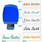 Custom Name Signature Self Inking Stamp 31x10mm One Line Personalized 16 Letters
