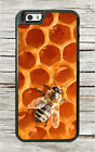BEE HONEYCOMB PANEL INSECT LIFE CASE FOR iPHONE 6 6S or 6 6S PLUS -aju7X
