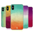 HEAD CASE DESIGNS WATERCOLOURED OMBRE SOFT GEL CASE FOR APPLE iPHONE PHONES