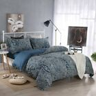 100% Brushed Cotton Duvet Cover Set Printed 3 Pic Set Twin/Full/Queen/King Size image