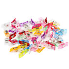 100PC Plastic Wonder Clip Clamps Sewing Craft Tool Easy Quilt Making With Box RS