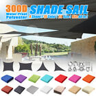 Внешний вид - Sun Shade Sail Outdoor Garden Canopy Patio Cover UV Wind Waterproof Block