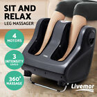 Livemor Foot Massager Shiatsu Ankle Calf Leg Massagers Kneading Rolling 3 Colors