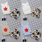 Toddler Kid Baby Boy Outfit Sleeveless Vest Tops+Camouflage Pants Clothes Set T8