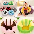 Soft Cute Print Baby Support Seat Sofa Baby Learning Chair Plush Toy EH7E