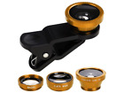 3-in-1 Wide Angle Macro Fish Eye Lens Camera Kits for Mobile Phone