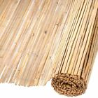 Nature Garden Fence Bamboo Natural Outdoor Patio Barrier Divider 1.5x5m/2x5m