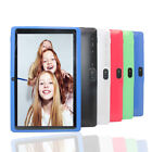 """7"""" Tablet Pc Android 4.4 Quad-core 4gb Wifi Google Dual Camera Kids Child Uk"""