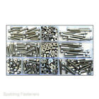Assorted M4/4mm A2 Stainless Steel Socket Cap Screw Bolts ,Nuts, Washers Kit