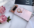 Bling Glitter Cute Crystal Diamond Mirror Back Case Covers For Samsung Galaxy