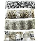 Oversized Full Body Decorative 48-Inch Adult Bedding Pillow Printed Brown image