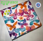 "ZooFleece 55X60"" Butterfly Butterflies Insect Blanket Linen Throw Bedding  image"