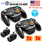 Kyпить Wireless Gamecube Controller Wavebird Style w/ Adapter for Nintendo NGC GC Black на еВаy.соm